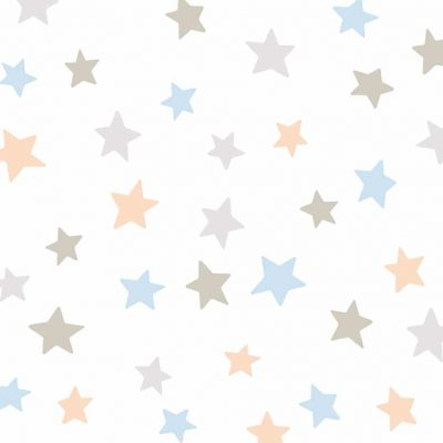 Soft Stars Wall sticker multicolor pastel Collection Looking for adventure - tresxics