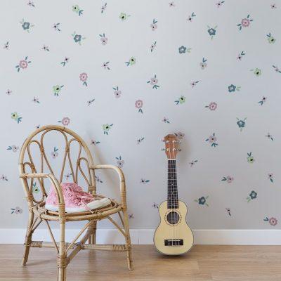 Flowers sticker decor Collection Childhood memories - tresxics