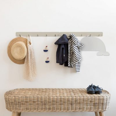 Whale mirror collection Looking for adventure wall hanger- Tresxics