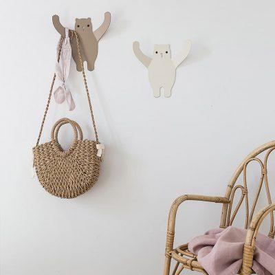 Bears wall hanger decor wall - tresxics