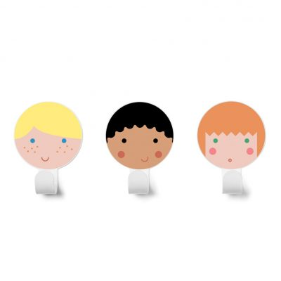 Hero Hook collection Dot to dot colors blond, black and red hair - Tresxics