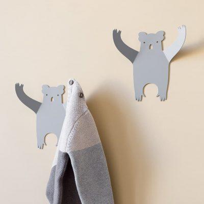 Koalas wall hanger decor room - tresxics