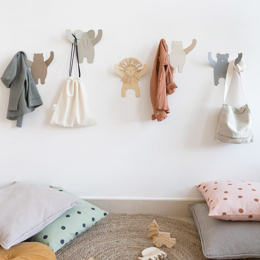 lion wall hanger all wild friends collection tresxics