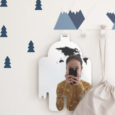Robot mirror collection Looking for adventure reflection- Tresxics