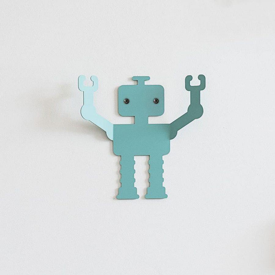 Robot wall hanger Q1 decor - tresxics
