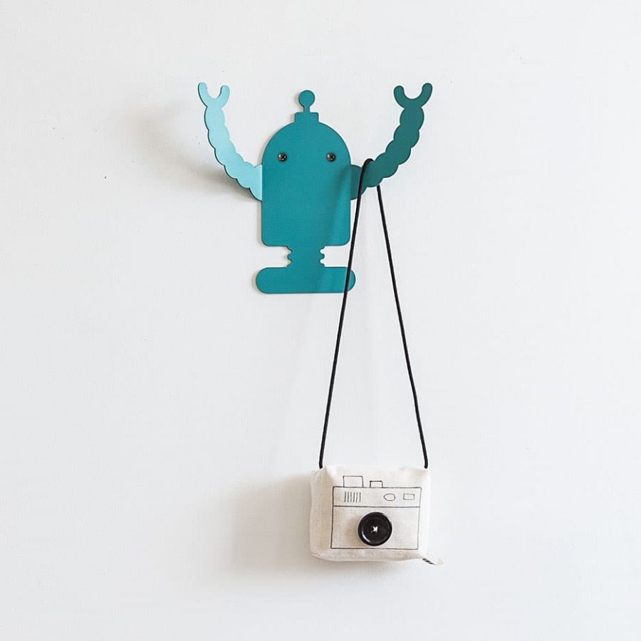 Robot wall hanger R2 decor - tresxics