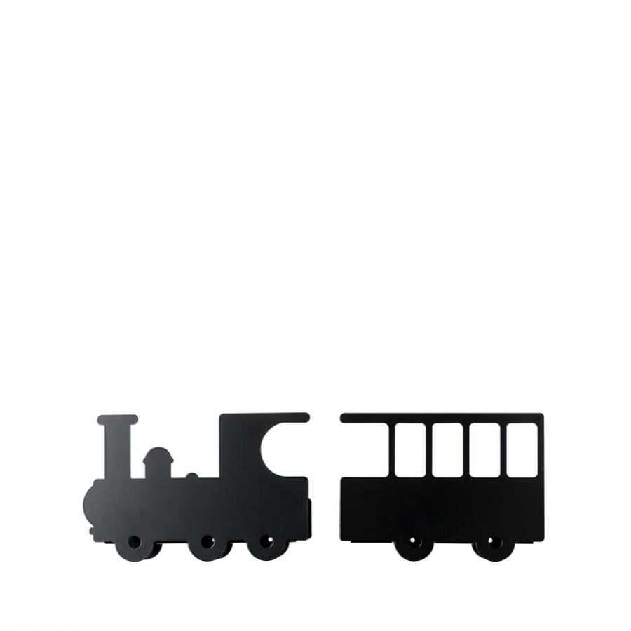 Shelve collection looking for adventure train color black - Tresxics