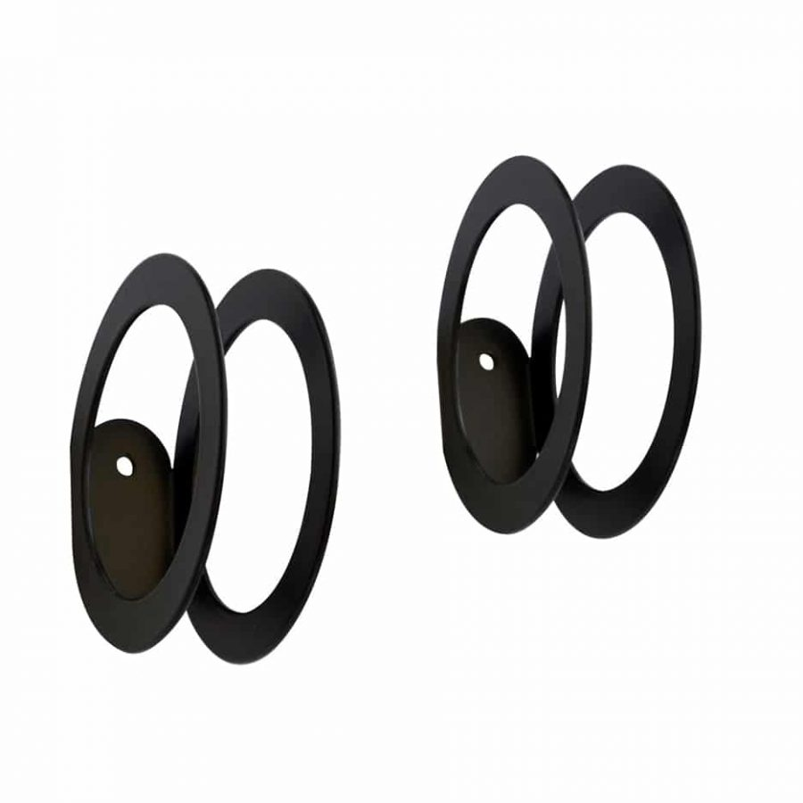 Product Black Circle hook Collection Dot to dot - tresxics