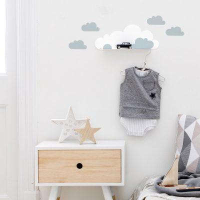 Cloud Shelf blue decor - tresxics