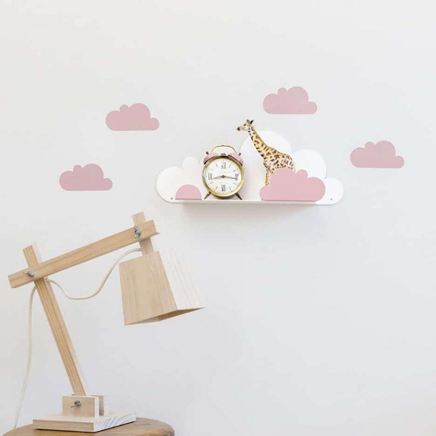 Cloud Shelf pink decor - tresxics