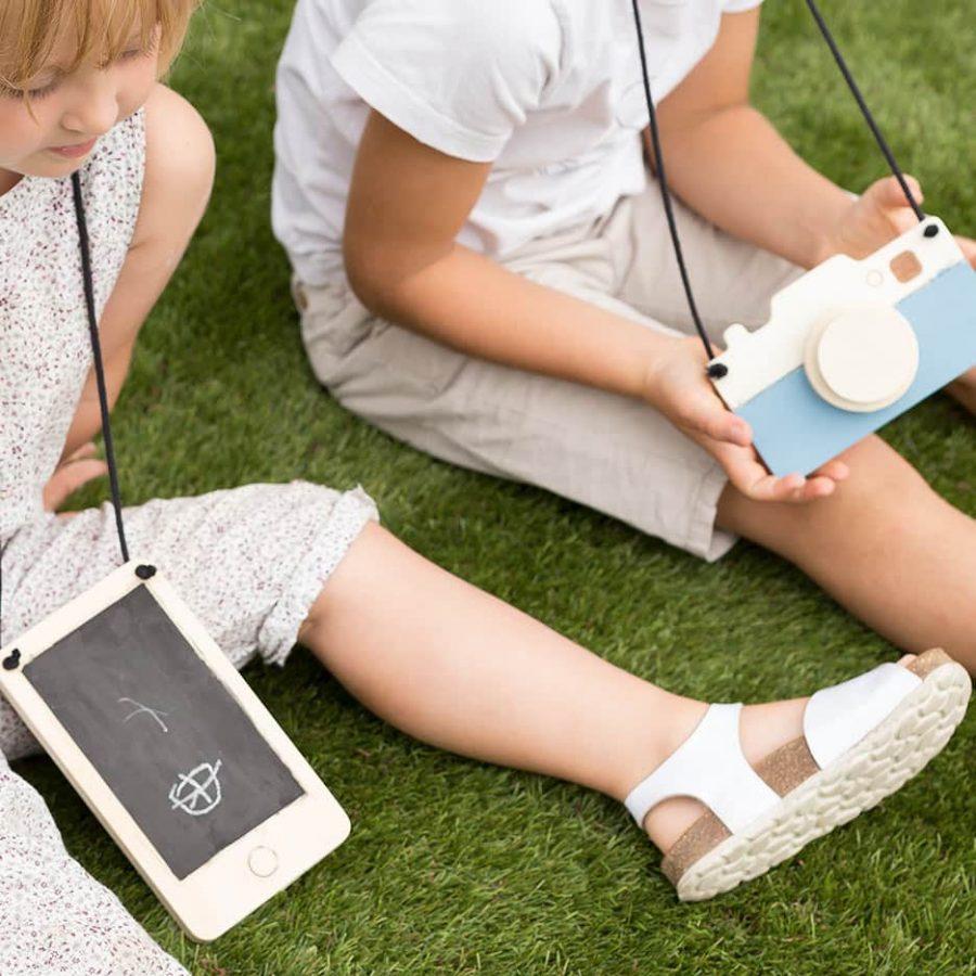 Product Wood Smartphone decor kids Collection Crea Kit DIY - tresxics
