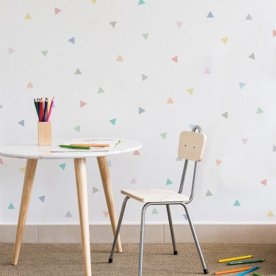 Triangles wall sticker decor Collection Dot to dot - tresxics