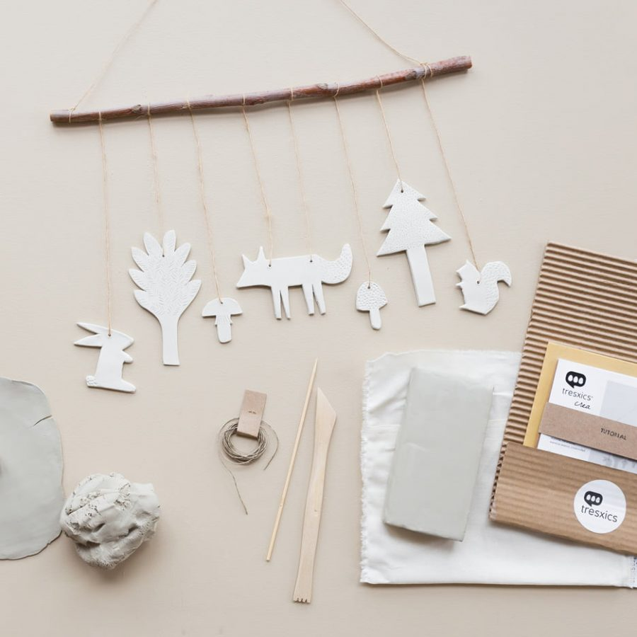 Clay Forest product decor Collection Crea Kit DIY - tresxics